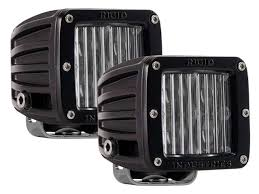 Rigid Fog Lights Rigid Industries 504813 Sae Compliant D Series Led Fog Light Set