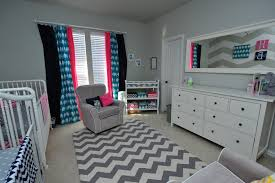 3 11 grey and white chevron rug a room for two project nursery