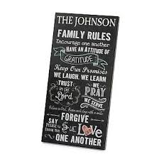 create you own personalized chalkboard family rules wall art at things remembered find a variety of personalized gifts that are sure to please  on personalised wall art gifts with 9 best personalized wall art images on pinterest personalized wall