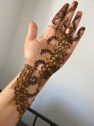 Easy Cone Design For Hands Pin By Ahlam On Hena Mehndi Designs Modern Henna Designs