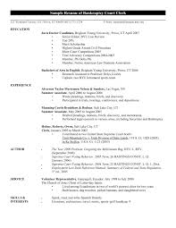 General Office Clerk Sample Resume For Example Constescom Mail