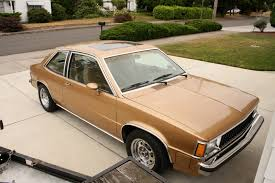 My first car. It was candy apple red. 1981 Chevy Citation X-11 ...