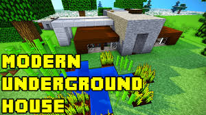 Houses Built Underground Minecraft Modern Underground House Tutorial Xbox Pe Pc Ps3 Ps4