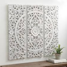 carved wood wall art carved wall decor