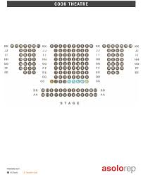 Seating Maps Asolo Repertory Theatre