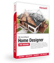 3D Architect Home Designer Pro Software - Elecosoft