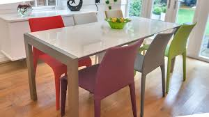 coloured dining room chairs best image middleburgarts