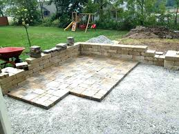 installing patio pavers laying patio stonewall step installation best photo s lovely installing patio pavers over