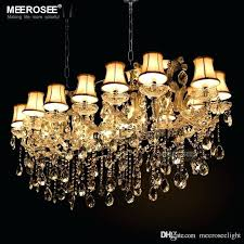 chandelier lamp large hotel maria lights authentic pendants rectangle crystal chandelier lamp foyer for dining room