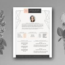 Cool Resume Template Interesting Creative Resume Template 48 page Resume Templates Creative Market