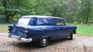 Chevrolet Sedan Delivery rare all stock wonderful condition