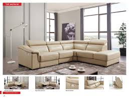 Sectionals Living Room 760 Sectional W Electric Recliner Leather Sectionals Living Room