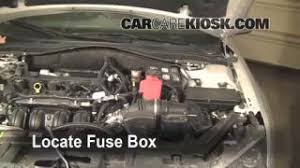 interior fuse box location ford fusion ford blown fuse check 2010 2012 ford fusion