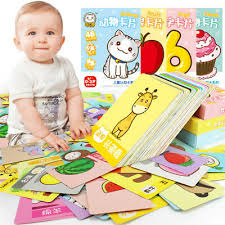 Baby Learning Chart Kids Baby Child Early Learning Literacy Card Chart Reading