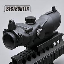Online Shop Tactical <b>Optics</b> Riflescope <b>ACOG</b> Type <b>1x32</b> Red ...
