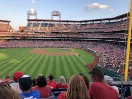 Phillies Field Seating Chart Citizens Bank Park Section 242 Home Of Philadelphia Phillies