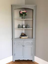 corner hutch dining room. Dining Room Corner Hutch New Vintage Old Charm Painted Alluring Plans Antique For Building