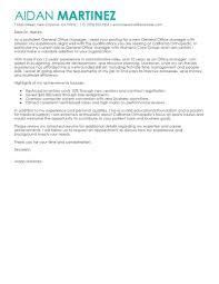Cover Letter Restaurant Example Restaurant Cover Letter Restaurant General Manager Cover Letter