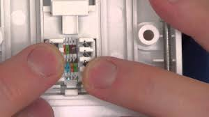 how to install a cat5e network faceplate socket and how to fix a how to install a cat5e network faceplate socket and how to fix a wiring fault