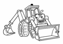 Small Picture Bob the Builder Coloring Pages kids world