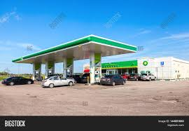 novgorod region russia image photo bigstock novgorod region russia 31 2016 bp british petroleum gas station in summer