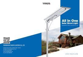 China Manufacturer Cheap Solar Street Light Project Proposal For Solar Street Light Brochure