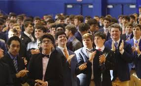Excited Jesuit Community Dedicates Gayle & Tom Benson Arena | Jesuit High  School of New Orleans
