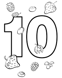 Follow the color key and watch the image come to life before your very eyes. Number Coloring Pages For Preschool 101 Coloring