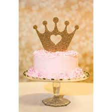 Crown Princess Cake Topper For Birthday Z Create Design