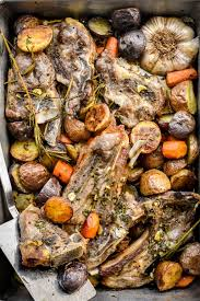 One Pan Garlic Lamb Chops With Potatoes And Carrots Pardon Your French