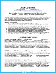 General Manager Resume Summary Examples Best of Downloadable Business Development Manager Profile Summary Marvelous
