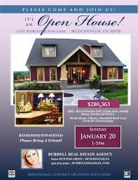 Microsoft Real Estate Flyer Templates Realtor Flyer Template Open House Microsoft Publisher Template Home Listing Flyer Instant Download Windows Users Only