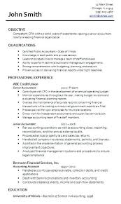 Senior Accountant Cover Letter Certified Public Accountant Cover