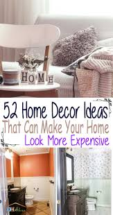 52 home decor ideas that can make your