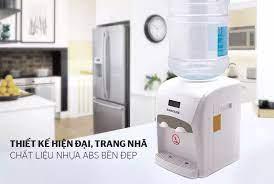 Cây nước nóng lạnh để bàn SUNHOUSE SHD9601 - Bình chứa nước inox 304 - Nhỏ  gọn tiết kiệm diện tích - Hàng chính hãng Sunhouse Việt Nam