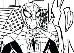 Printable coloring pages for kids. Baby Spider Man Coloring Pages Spiderman Coloring Pages Free Printable Coloring Pages Online