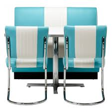 Retro Style Kitchen Accessories Retro Kitchen Table And 6 Chairs Vine Turquoise Chair Retro Diner