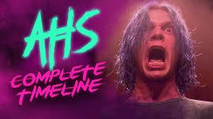 The Complete American Horror Story Timeline   Season 1 to Season 9 (All  Seasons) - YouTube