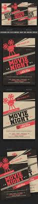 Movie Night Flyer Templates | Pinterest | Flyer Template, Template ...