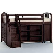 canwood whistler storage loft bed with desk bundle natural