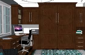 home office with murphy bed. Guest Room Home Office 1 With Murphy Bed