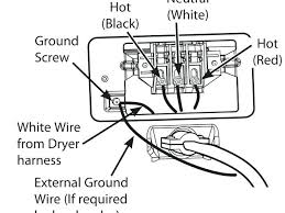 3 prong dryer outlet wiring diagram oasissolutions co 4 prong dryer outlet wiring diagram beautiful white green black 3 plug primary single phase capacitor