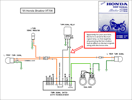 honda shadow 1100 wiring diagram 1988 honda shadowî€ vt1100 turning signal wiring diagram 2007 1988 honda shadowî