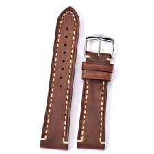 hirsch liberty 22mm brown leather strap