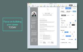 Cool Resume Templates For Mac Magnificent Resume Pages Template Socialumco