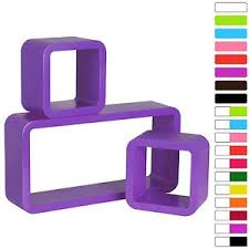 Purple Floating Shelves WOLTU 41 41 x Purple Floating Wall Shelf Floating Shelves Storage 2