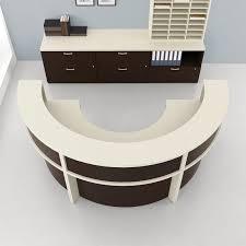 semi circular desk