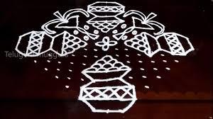 Bhogi Muggulu Designs With Dots Bhogi Kundalu Kolam Designs With 17 3 3 Straight Chukkala
