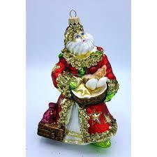 Christbaumschmuck Weihnachtsmann Mit Muscheln