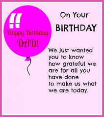 Happy Birthday Messages For Father All Day Quotes
